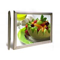Wholesale LED Edge Lit Aluminum Frame Light Box , Flat Menu Light Box Wall Mounted from china suppliers