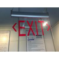 Wholesale Rechargeable LED Double - Side Emergency Battery Operated Exit Signage from china suppliers