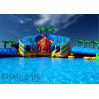 Wholesale Giant Dinosaur Water Slide Inflatable Water Park Heavy Duty PVC Tarpaulin from china suppliers