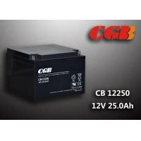 Quality Black CB12250 Valave Regualted Energy Storage Battery 12V 25Ah For UPS for sale