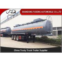 Wholesale 50000 Liters transport bitumen tank truck trailer with heating system from china suppliers