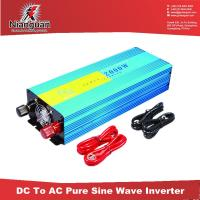 Wholesale High quality Pure Sine Wave Power Inverter 2000W from china suppliers