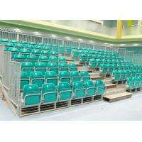 Wholesale Fire Resistant HDPE Temporary Grandstand Seating , Green Outdoor Stadium Seats from china suppliers