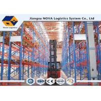 Wholesale Durable CE Customized Industrial Pallet Racking System , Easy Assembly Steel Heavy Duty Shelving from china suppliers