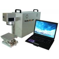 Wholesale Portable Fiber Laser Marking Machine , Fiber Laser Etching Machine for Metal / Plastic from china suppliers