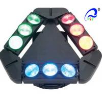Quality 9 Heads 10W 4in1 RGBW LED Spider Moving Head Stage Light Quad - Color 5 Degree for sale