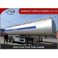 Wholesale Diesel Tanker Trailer Liquid Transportation / Chemical Tanker Truck 50000 Liters from china suppliers