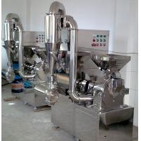 Wholesale High Speed Herbal Crushing Machine , Easy Operation Medicine Pulverizer from china suppliers