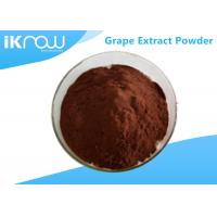 China Antioxidation 95% Grape Extract Powder CAS 84929 27 1 Reddish Brown Powder on sale