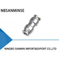 Wholesale SSU Stright Stainless Steel Air Fittings High Performance Eco Friendly from china suppliers