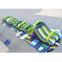 Wholesale Radical Run Extreme Inflatable Obstacle Challenges , Inflatable Slide Run from china suppliers
