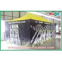 Wholesale Huge Black Folding easy up tent steel frame for advertisement from china suppliers