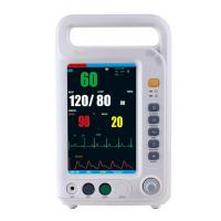 Wholesale 7 Inch Color Screen Multi Parameter Patient With 4 Standard Parameters ECG, NIBP, SpO2, RESP Built-in Lithium Battery from china suppliers