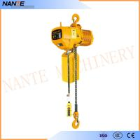 Wholesale Industrial Electric Chain Hoist for Crane / Travelling Type / Fixed Type Electric Hoist from china suppliers