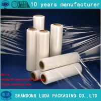Wholesale 12/15/17mic Film blue lldpe stretch shrink wrap from china suppliers