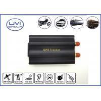 Buy cheap VT103A Real Time 850 / 900 / 1800 / 1900MHZ GSM / GPRS Vehicle GPS Trackers (159dBm) from wholesalers