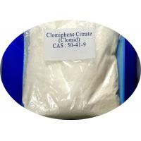 Wholesale Anti Estrogen Steroids Powder Clomid / Clomifene Citrate CAS 50-41-9 from china suppliers