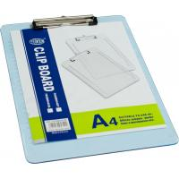 Wholesale Durable Blue Plastic Clipboard Paper Holder A4 Size With Custom Printed For Offices from china suppliers