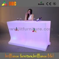 Wholesale 2016 LED Glowing Display Table With 16 Colors Changing from china suppliers
