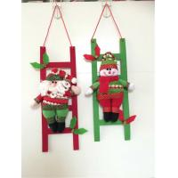 Wholesale Wholesale decorative products plush christmas santa climbing ladder from china suppliers