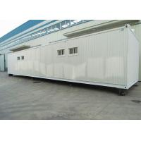 Wholesale low cost container homes metalic frame container refugee shelter from china suppliers