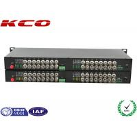 Wholesale Video To Fiber Optic Converter 32 Video Ways Rack MountableLong Distance Point from china suppliers