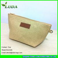 Wholesale cheap lady straw handbags foldable paper straw clutch bags from china suppliers