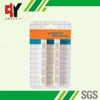 Wholesale 100 Tie Points Solderless Breadboard Kit 2 Half Size Strips With Color Printed from china suppliers