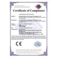 Guangzhou Banyu Communications Technology Co.,Ltd. Certifications