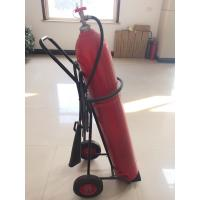 Wholesale 10 kg Wheeled Co2 Fire Extinguisher With Alloy Steel Cylinder / Brass Valve from china suppliers