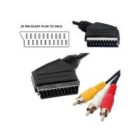 Wholesale 20 Pin Scart to 3RCA Plug Cable from china suppliers