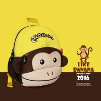 Wholesale Enviromental Friendly Cute Toddler Backpacks Monkey 30.5*23*10.5cm from china suppliers