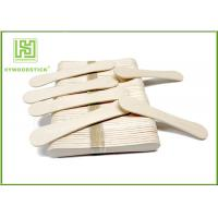 Wholesale 94Mm Ice Cream Wooden Sticks , Ice Cream Distributor Hot Stamping Logo from china suppliers