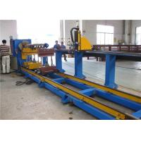 Buy cheap Industrial Plasma CNC Pipe Cutting Machine For Mild Steel / Stainless Steel Pipe from wholesalers