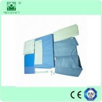 Wholesale CE/ISO13485 certification non woven Caesarean drape kits from china suppliers