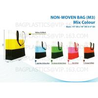 Wholesale NON WOVEN SHOPPING bags, nonwoven bags, woven bags, big bag, fibc, jumbo bags,tex from china suppliers