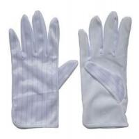 Wholesale Thin Bleached White knitted cotton working hand gloves for women from china suppliers