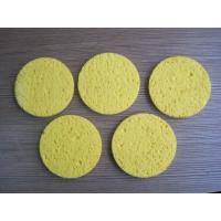 Wholesale 20 D - 40 D Density Compressed Cellulose Sponge for Bathe / Make Up / Facial Maintenance environment-friendly from china suppliers