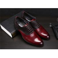 Wholesale Color Blocking Classic Dress Shoes Fashion Upper With Leather And Suede Sewing Together from china suppliers