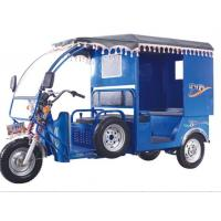 Wholesale Environmental 60V 1280W Battery Operated Electric Passenger Tricycle 26km/H from china suppliers