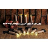 Wholesale Decorative Remote Control Flameless Candles , Indoor Outdoor Moving Wick LED Candle from china suppliers