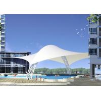 Wholesale High Strength Swimming Pool Tents Tensile Fabric Membrane Structures Architecture PTFE from china suppliers