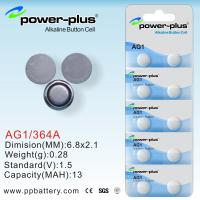 Wholesale Power Plus AG Series button cell battery AG1/ 364A/1.5v from china suppliers
