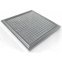 Wholesale IP65 Hydroponic Dimmable LED Grow Lights PPMA Cover , 300*300*10mm from china suppliers