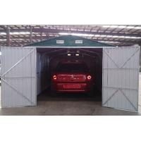 Wholesale 19x10 Prefab Galvanized Steel Car Garage / Outdoor Apex Metal Car Shelter For Carport from china suppliers