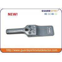 Wholesale Police Use Handheld Metal Detector , Portable Hand Metal Scanner For Security Checking from china suppliers