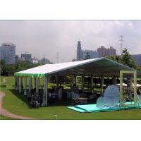 Wholesale Aluminum Frame Marquee Party Tent For Garden Party / Wedding Party Sun Resistant from china suppliers
