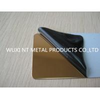 Wholesale 316L Hairline Color Stainless Steel Sheet SUS JIS EN Steel Plate For Decoration from china suppliers