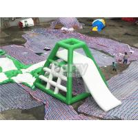 Wholesale 4.8m High Inflatable Water Toys Inflatable Water Jumping Tower With Water Slide from china suppliers