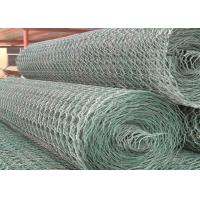 Wholesale Galvanized / PVC Gabion Retaining Wall Durable For Coast Protection from china suppliers